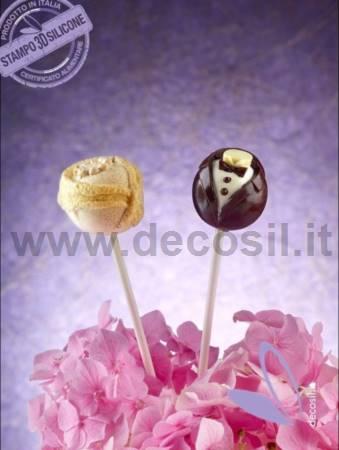 Newlyweds Lollipop mold