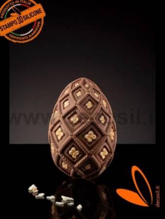 Medium-Size Majolica Egg Mold