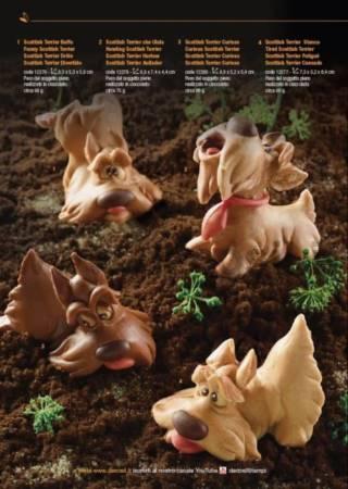 Tired Scottish Terrier Dog mold