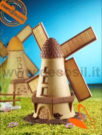 Windmill LINEAGUSCIO Mold