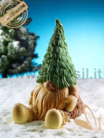 Gnome Tiby Chocolate LINEAGUSCIO Mold