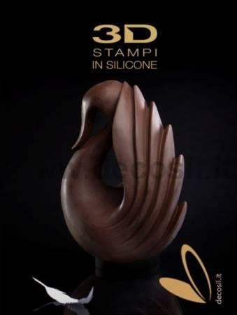 Cygnus Chocolate Easter Egg LINEAGUSCIO Mold