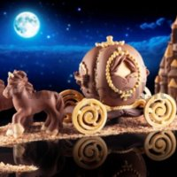Video Tutorial Step by Step Chocolate Royal Carriage LINEAGUSCIO