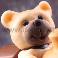 Bear Snout Cake Topper Step by Step Video Tutorial