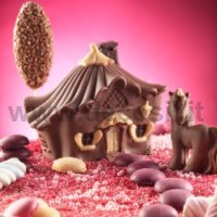 Video Tutorial Step by Step How to make Chocolate House of Fairies