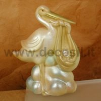 Chocolate Stork Step by Step Christening