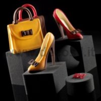 Fashion Vanity Bag and Shoes by decosil