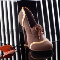 Video Tutorial Step by Step How to make Chocolate Woman French Shoe