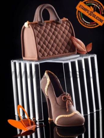 Handbag Bauletto chocolate mold